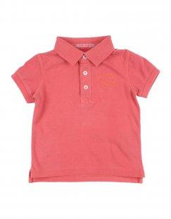 PEPE JEANS Jungen 0-24 monate Poloshirt Farbe Koralle Größe 10
