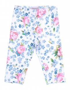 MONNALISA BEBE´ Mädchen 0-24 monate Leggings Farbe Blau Größe 4