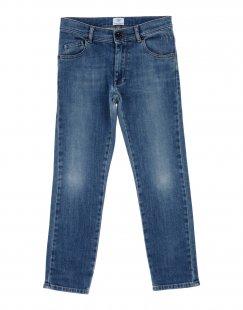 MAURO GRIFONI Jungen 3-8 jahre Jeanshose Farbe Blau Größe 6