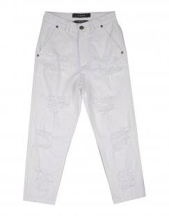 26.7 TWENTYSIXSEVEN Jungen 3-8 jahre Jeanshose Farbe Weiß Größe 6