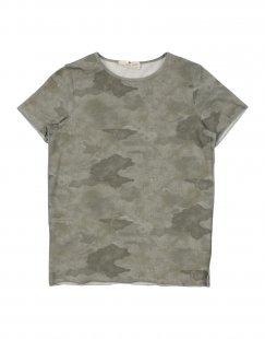 LE PETIT COCO Jungen 9-16 jahre T-shirts Farbe Militärgrün Größe 2