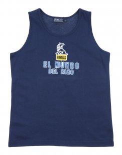 BRUMS Jungen 9-16 jahre T-shirts Farbe Dunkelblau Größe 2