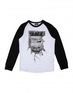 DIESEL Jungen 9-16 jahre T-shirts Farbe Weiß Größe 2