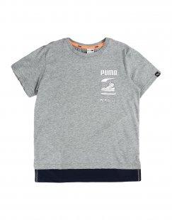 PUMA Jungen 9-16 jahre T-shirts Farbe Grau Größe 1