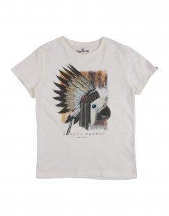 MANYMAL for MYTHS Jungen 9-16 jahre T-shirts Farbe Weiß Größe 2