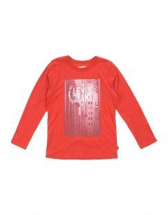 LEVI´S KIDSWEAR Jungen 9-16 jahre T-shirts Farbe Rot Größe 6