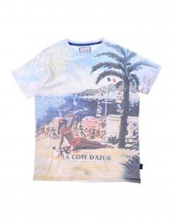 HARMONT&BLAINE Jungen 9-16 jahre T-shirts Farbe Himmelblau Größe 7