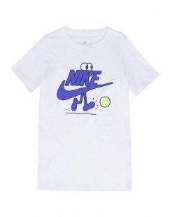 NIKE Jungen 9-16 jahre T-shirts Farbe Weiß Größe 5