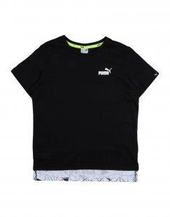 PUMA Jungen 9-16 jahre T-shirts Farbe Schwarz Größe 7