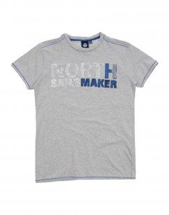 NORTH SAILS Jungen 9-16 jahre T-shirts Farbe Hellgrau Größe 4