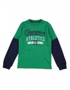 CHAMPION Jungen 9-16 jahre T-shirts Farbe Grün Größe 1