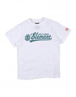 ELEMENT Jungen 3-8 jahre T-shirts Farbe Weiß Größe 6