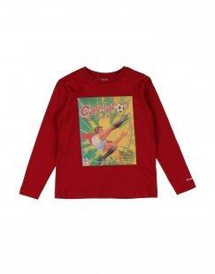 PANINI Jungen 3-8 jahre T-shirts Farbe Rot Größe 2
