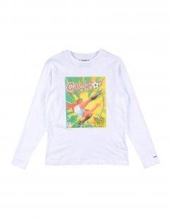 PANINI Jungen 3-8 jahre T-shirts Farbe Weiß Größe 4