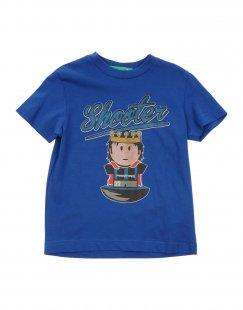 FACCINEP Jungen 3-8 jahre T-shirts Farbe Blau Größe 6
