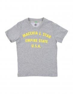 MACCHIA J Jungen 3-8 jahre T-shirts Farbe Hellgrau Größe 2