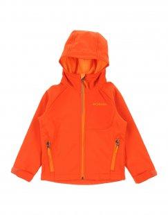 COLUMBIA Jungen 3-8 jahre Jacke Farbe Orange Größe 2