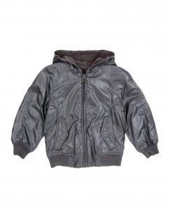 313 TRE UNO TRE Jungen 3-8 jahre Jacke Farbe Blei Größe 2