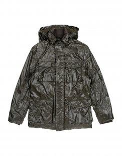 313 TRE UNO TRE Jungen 3-8 jahre Jacke Farbe Dunkelgrün Größe 6