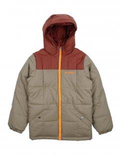 COLUMBIA Jungen 9-16 jahre Jacke Farbe Khaki Größe 2