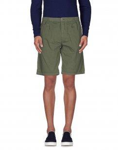 40WEFT Herren Bermudashorts Farbe Militärgrün Größe 5