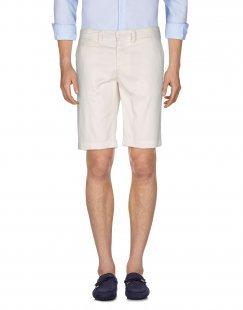 BOMBOOGIE Herren Bermudashorts Farbe Weiß Größe 2