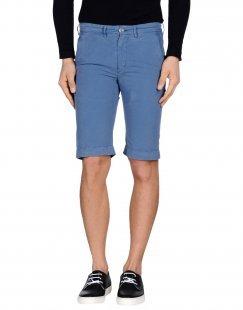 40WEFT Herren Bermudashorts Farbe Blaugrau Größe 4