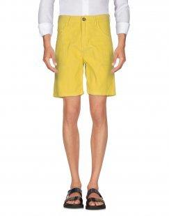 LIGHTNING BOLT Herren Bermudashorts Farbe Gelb Größe 4