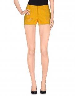 VERO MODA Damen Jeansshorts Farbe Gelb Größe 3