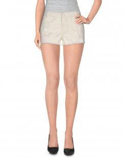 VERO MODA Damen Jeansshorts Farbe Weiß Größe 2
