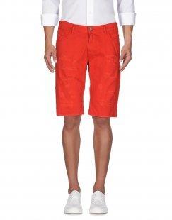 IMPERIAL Herren Jeansbermudashorts Farbe Rot Größe 10