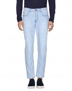 DERRIÉRE Herren Jeanshose Farbe Blau Größe 3