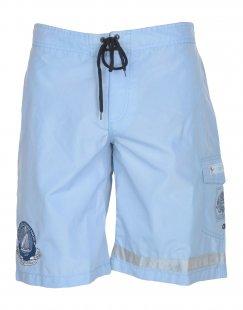 LEVIATHAN Herren Badeboxer Farbe Himmelblau Größe 8