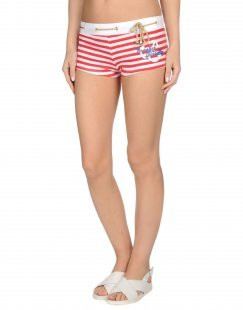 FRANKIE MORELLO SEXYWEAR Damen Strandhose Farbe Rot Größe 6