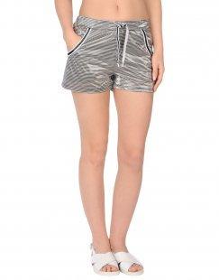 LES COPAINS BEACHWEAR Damen Strandhose Farbe Schwarz Größe 4
