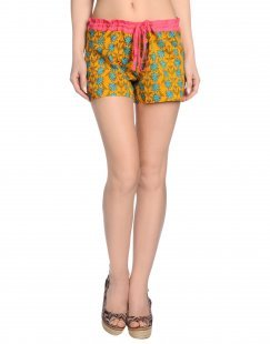 OPALINE Damen Strandhose Farbe Orange Größe 3