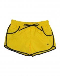 FERRARI Jungen 9-16 jahre Badeboxer Farbe Gelb Größe 5