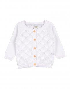 NAME IT® Mädchen 0-24 monate Strickjacke Farbe Weiß Größe 4