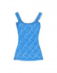 HANKY PANKY Damen Ärmelloses Unterhemd Farbe Azurblau Größe 4