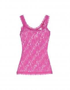 HANKY PANKY Damen Ärmelloses Unterhemd Farbe Fuchsia Größe 4