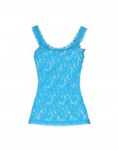 HANKY PANKY Damen Ärmelloses Unterhemd Farbe Tūrkis Größe 5