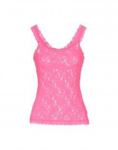 HANKY PANKY Damen Ärmelloses Unterhemd Farbe Rosa Größe 4