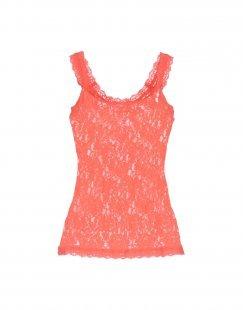 HANKY PANKY Damen Ärmelloses Unterhemd Farbe Orange Größe 5