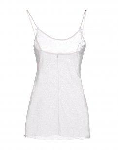 MOMONÍ Damen Ärmelloses Unterhemd Farbe Elfenbein Größe 3