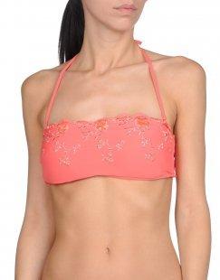 BLUGIRL BLUMARINE BEACHWEAR Damen Bikini-Oberteil Farbe Koralle Größe 6