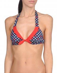 BLUGIRL BLUMARINE BEACHWEAR Damen Bikini-Oberteil Farbe Dunkelblau Größe 4