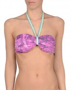 BLOOMERS & BIKINI Damen Bikini-Oberteil Farbe Malve Größe 4