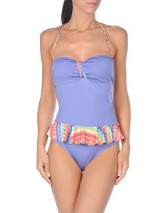 SUN SISTERS BEACHWEAR Damen Badeanzug Farbe Lila Größe 5