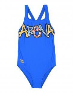 ARENA Mädchen 9-16 jahre Badeanzug Farbe Königsblau Größe 6