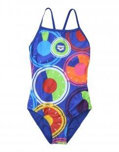 ARENA Mädchen 9-16 jahre Badeanzug Farbe Dunkelblau Größe 2